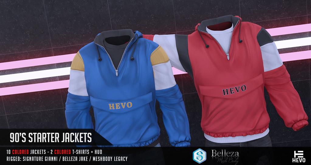 HEVO – 90's Starters Jackets