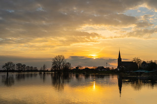 Maas sunset 1 | by Gloop Photo