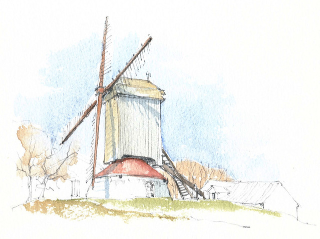 België, Kortemark, Koutermolen