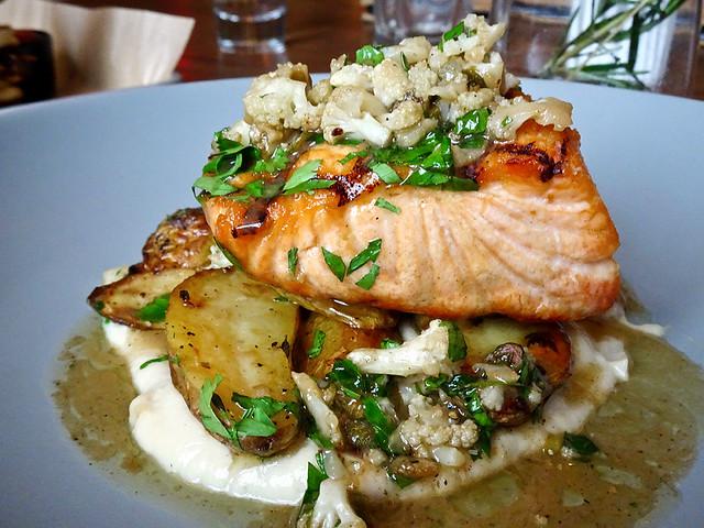 photo - Faroe Island Salmon, Public Kitchen & Bar, Providence Rhode Island