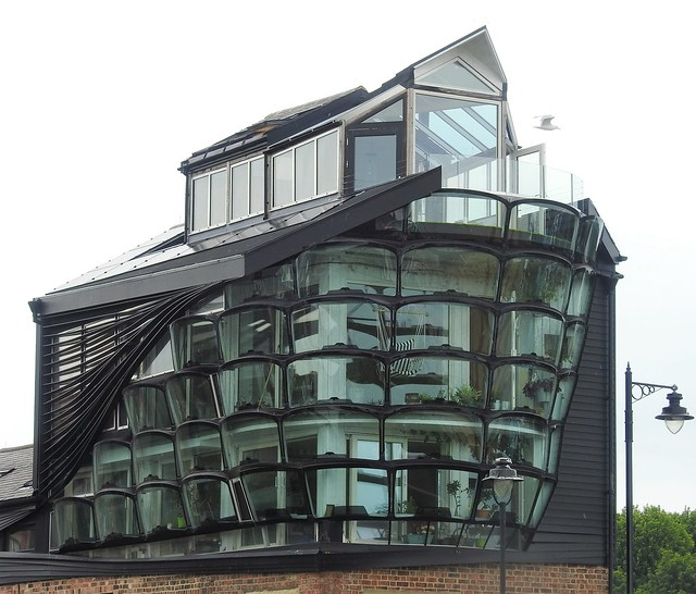 Glass Fronted Quayside Building - North Shields