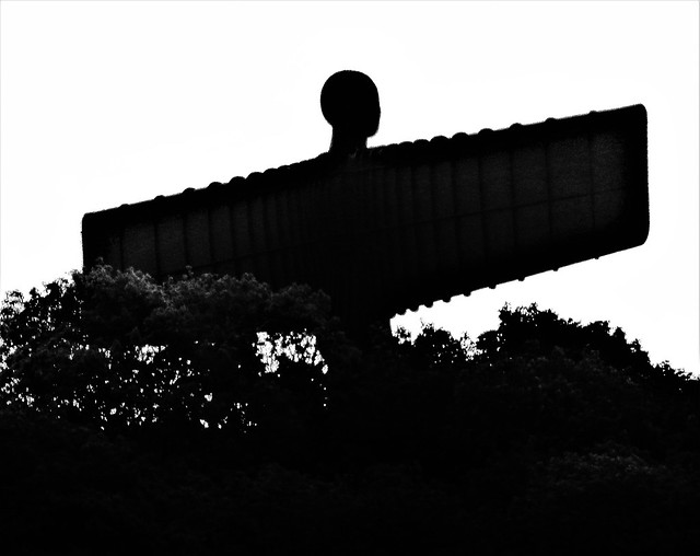 Angel of the North- Silhouette