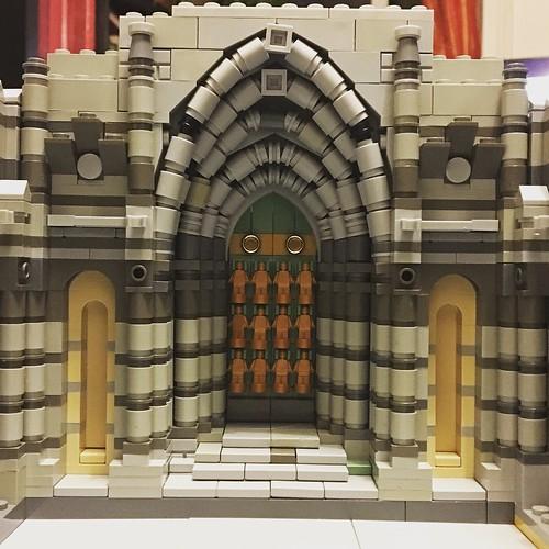 new portal at the northern choir of muntabur cathedral