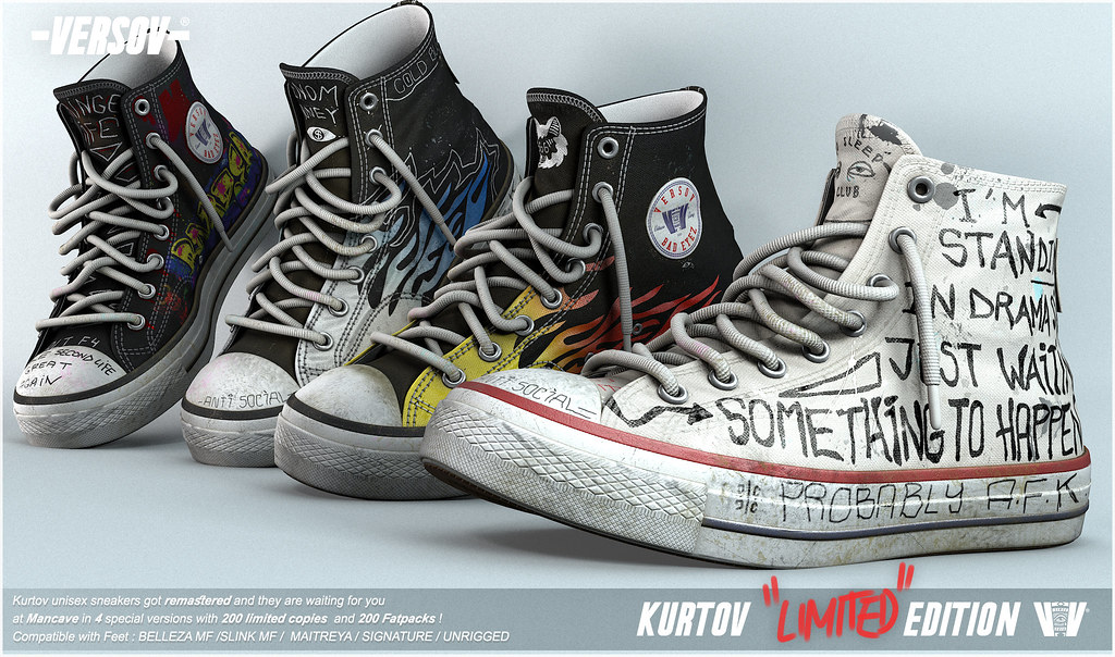 [ Versov //​ ] Kurtov LIMITED EDITION sneakers available at MAN CAVE