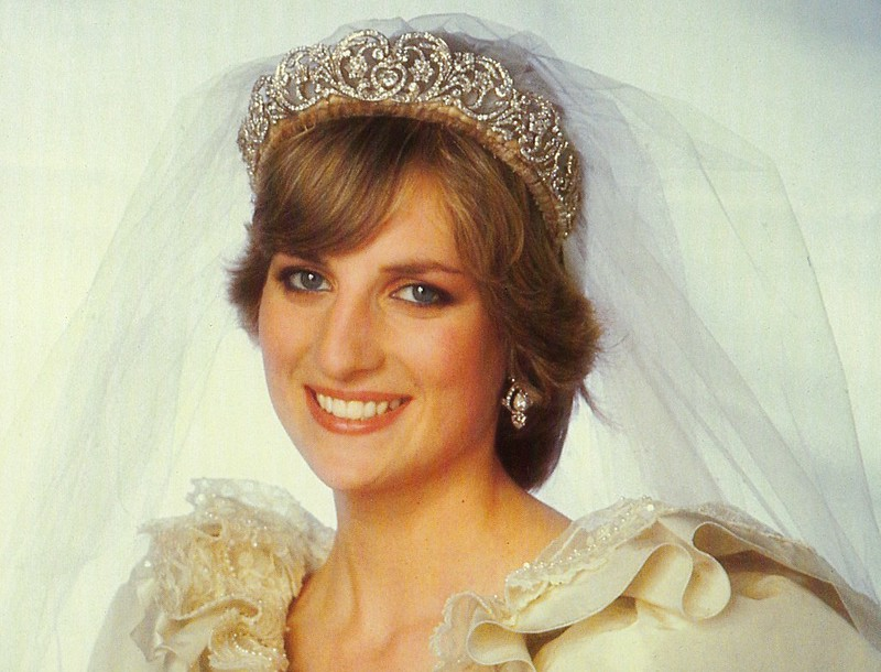 Princess Diana Memorabilia - The Princess Looks Radiant In Her Formal Wedding Portrait, July 1981