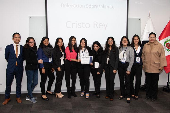 USIL realizó Bootcamp MUN 2019 para escolares