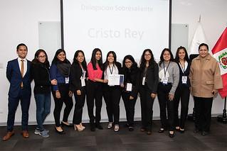 La Facultad de Derecho de la USIL, enfocada en formar profesionales de calidad con valores éticos, realizó el Bootcamp MUN 2019, dirigido a estudiantes de quinto de secundaria.