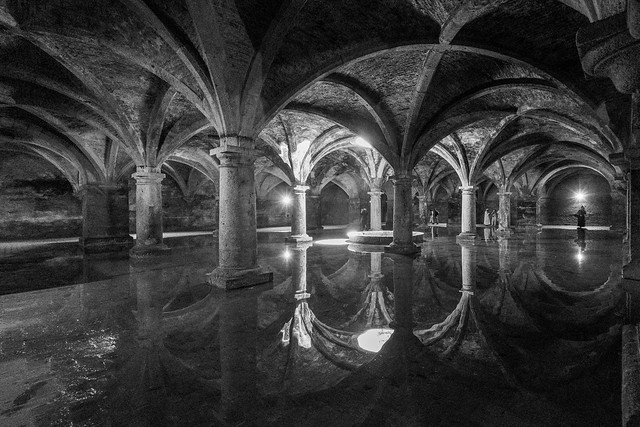 F3629~ The Portuguese Cistern of El Jadida