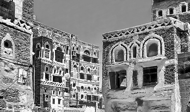 Sana'a ancient architecture