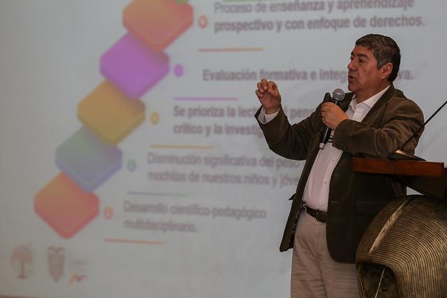 Presentación del prototipo de los textos modulares pedagógicos