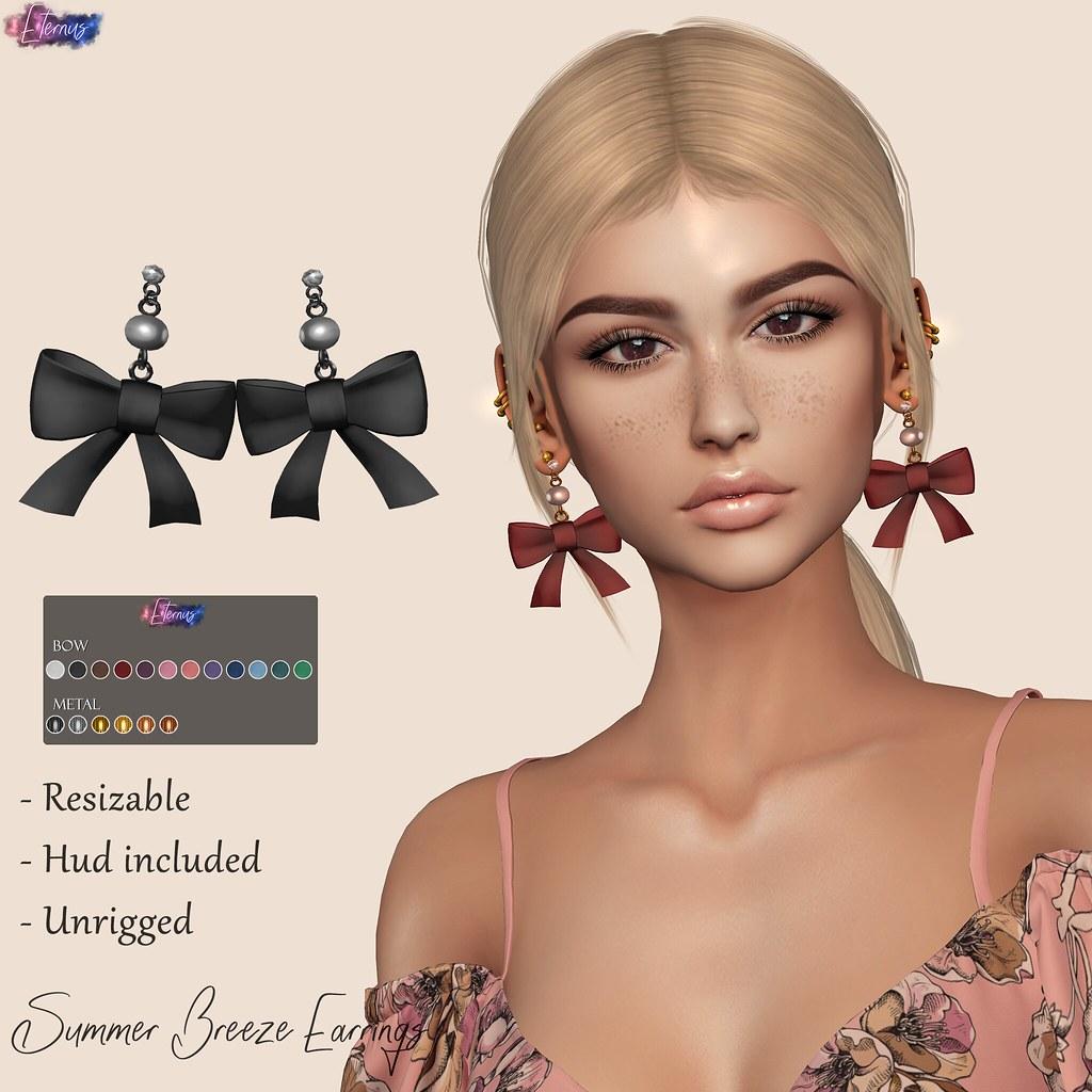 Summer Breeze Earrings @The Trunk Show