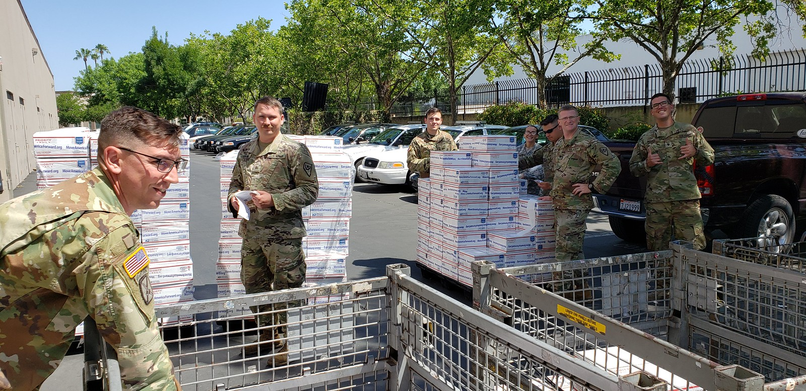 Troops Shipping Care Packages 6-14-19