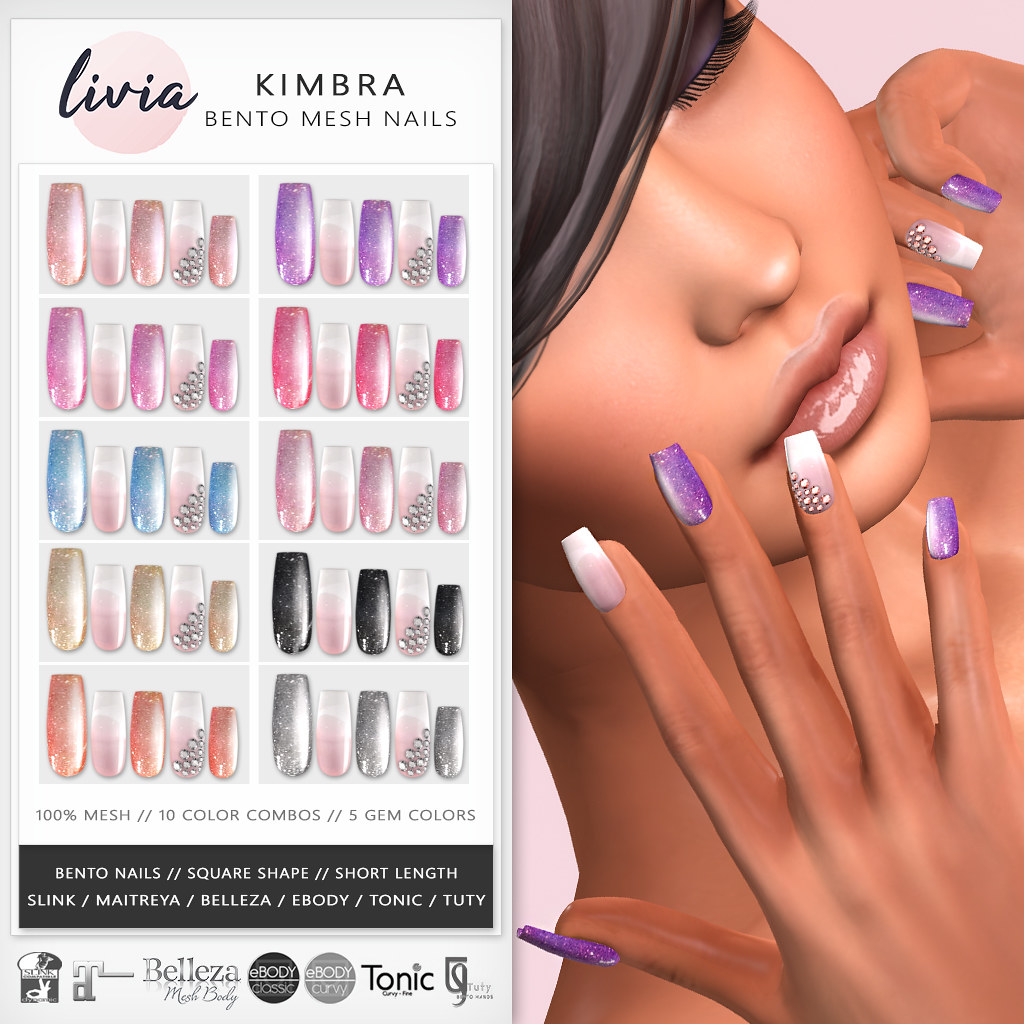 LIVIA // Kimbra Bento Nails (The Trunk Show)