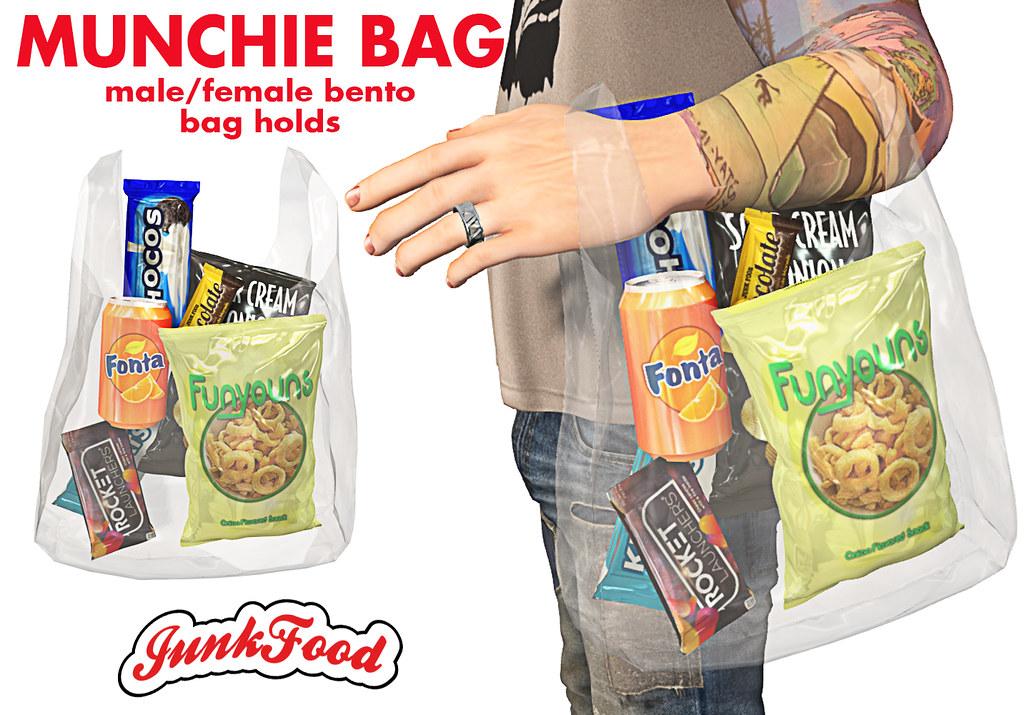 Junk Food – Munchie Bag Ad