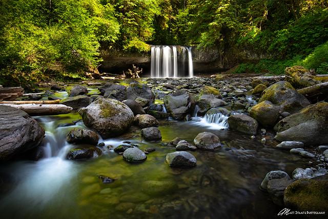 Oregon Summers, Upper Butte Creek Falls