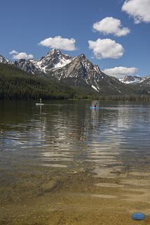 Water fun at Stanley Lake 2019