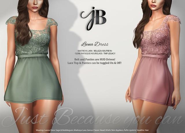 NEW! Leena Dress - at the Mainstore!