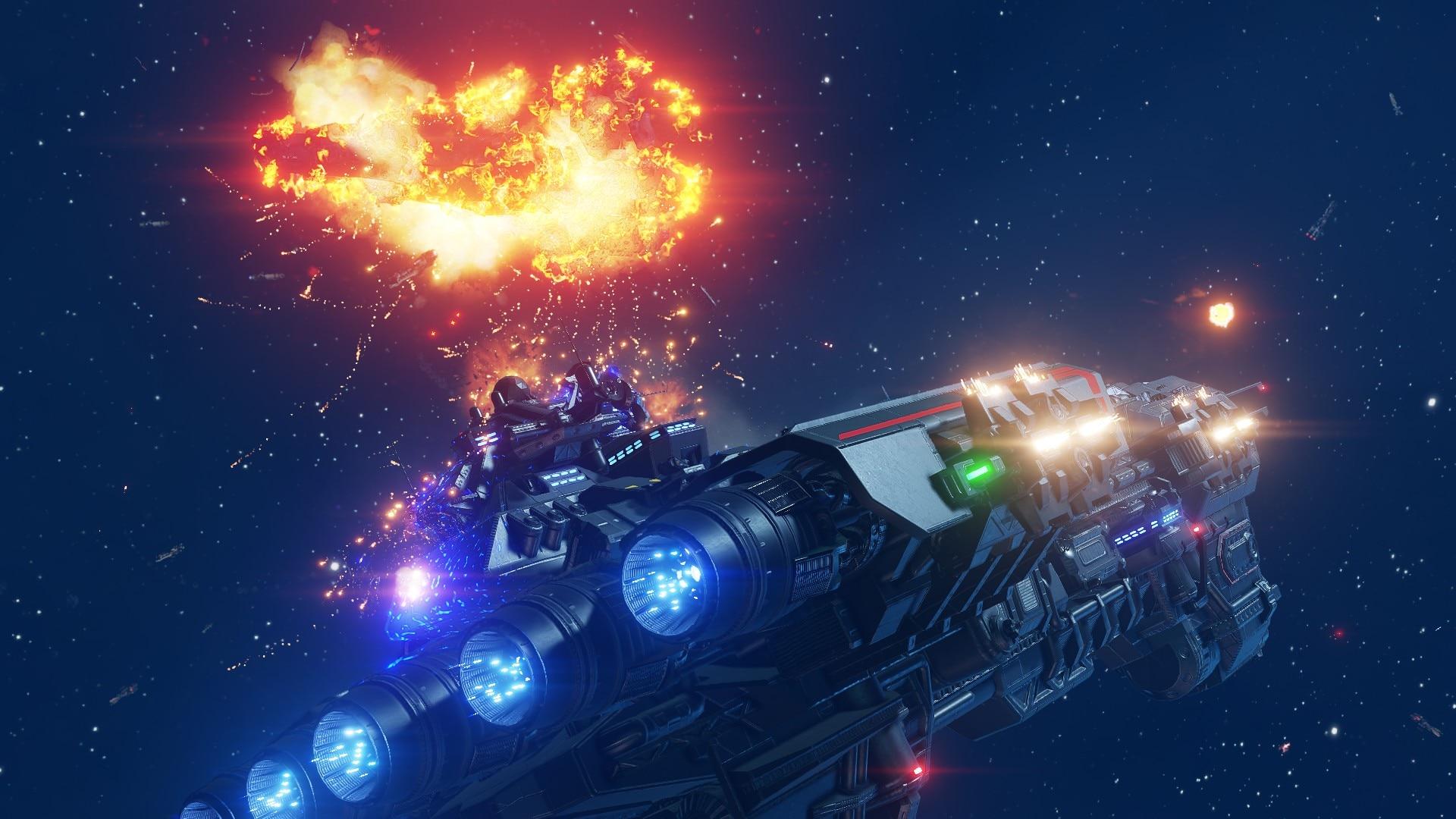 Between The Stars - Space Combat