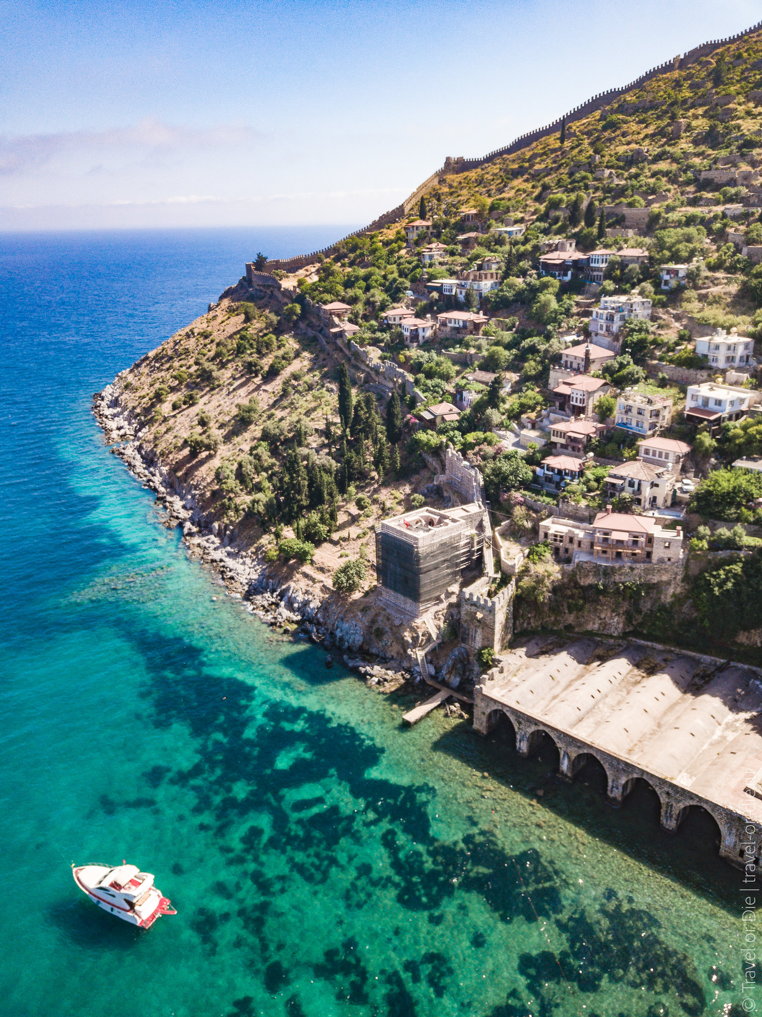 Pirate-Port-of-Alanya-and-All-Around-mavic-0909