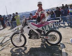 1991 Factory Yamaha YZM250 - H. Nishimaki pic