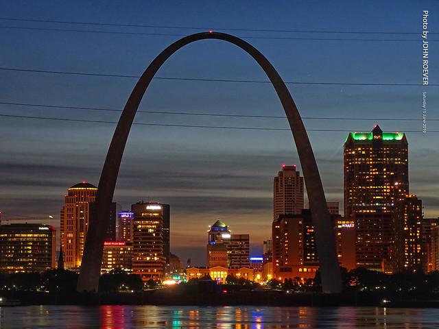 St Louis at Dusk, 15 June 2019