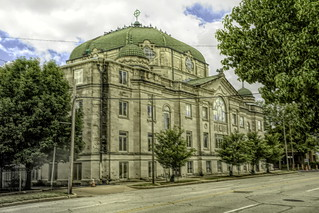 First Christian Church | by alnbbates