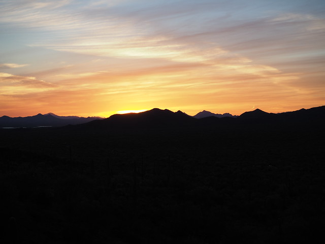 S4273378 west of Tucson sunset