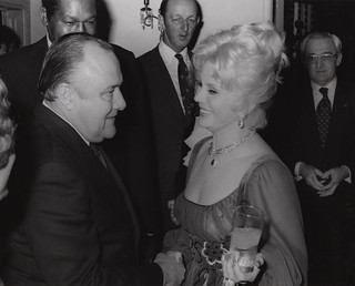 Robert Muldoon & Eva Gabor