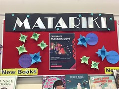 Matariki display, Redwood Library