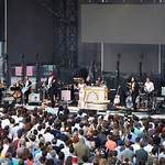 Sat, 15/06/2019 - 6:50am - Live on WFUV Radio, Jenny Lewis and her band at Forest Hills Stadium in Queens, NY on June 15, 2019. Photo by Gus Philippas/WFUV