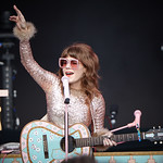 Sat, 15/06/2019 - 6:33am - Live on WFUV Radio, Jenny Lewis and her band at Forest Hills Stadium in Queens, NY on June 15, 2019. Photo by Gus Philippas/WFUV