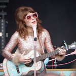 Sat, 15/06/2019 - 6:32am - Live on WFUV Radio, Jenny Lewis and her band at Forest Hills Stadium in Queens, NY on June 15, 2019. Photo by Gus Philippas/WFUV