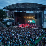 Sat, 15/06/2019 - 8:34am - Death Cab for Cutie live on WFUV Public Radio from Forest Hills Stadium in Queens, NY on June 15, 2019. Photo by Gus Philippas