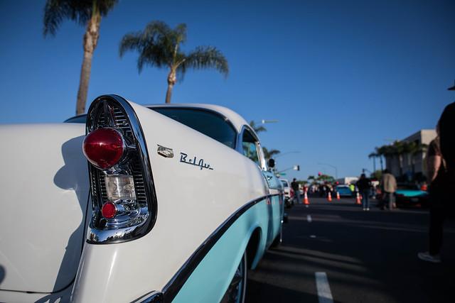 Tail Lamp Detail: 1956 Chevrolet Bel Air