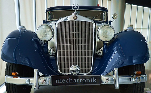 Anting - 1939 Mercedes 320 Cabriolet A