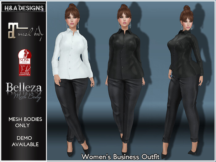 [H&A Designs]-Women's Business Outfit