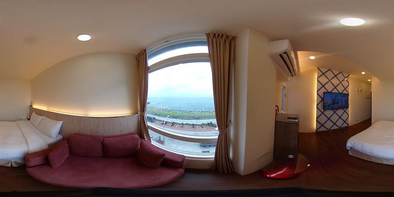 02綠堤濱海旅店-精緻海景雙人房