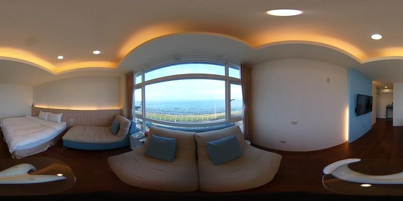03綠堤濱海旅店-豪華海景雙人房