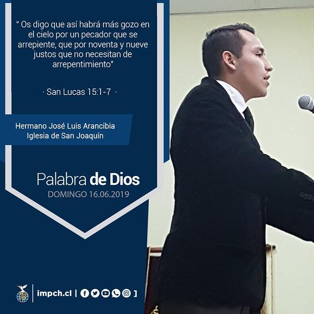 Palabra de Dios | Domingo 16 junio 2019