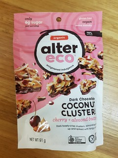 AlterEco Cherry and Almond Butter Coconut Clusters
