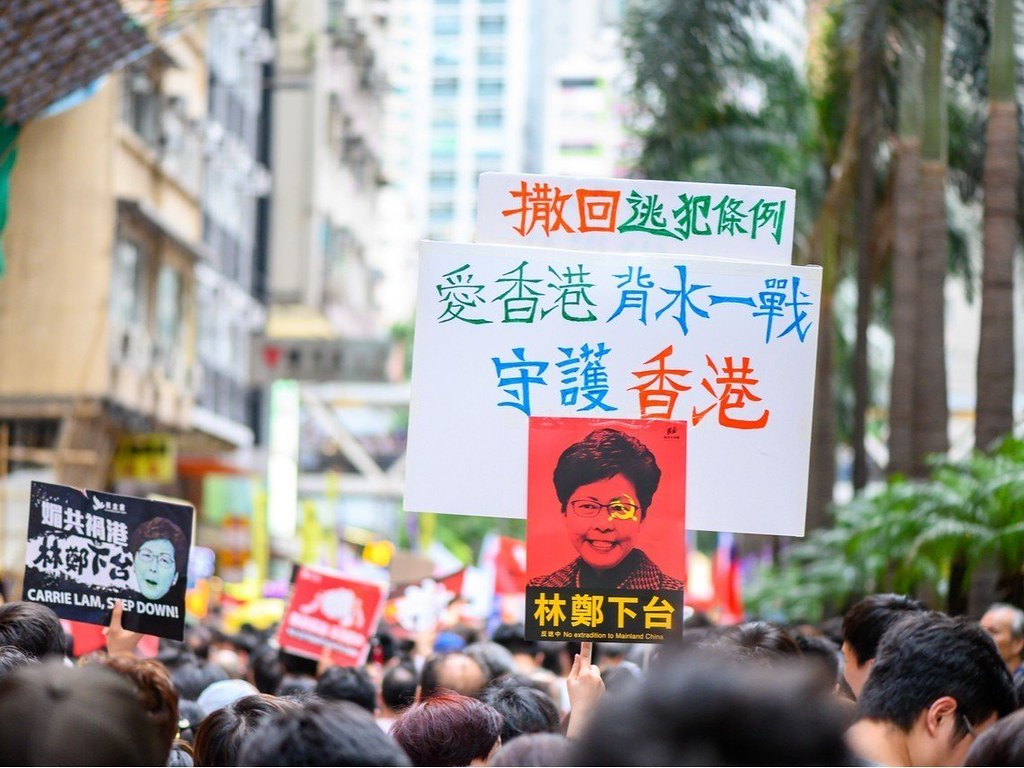 香港,反送中,中國,逃返條例,暫緩修例,林鄭月娥,中聯辦,撤回,立法院,