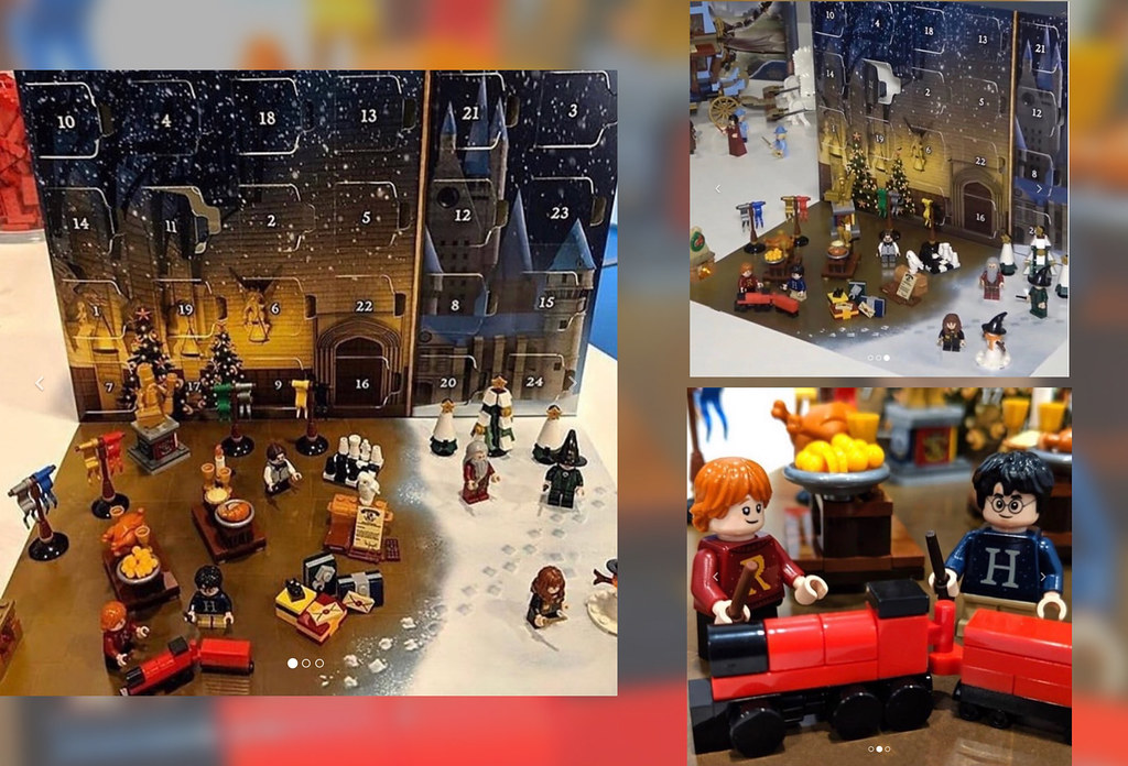 SPOILERS Harry Potter Lego Advent Calendar SPOILERS