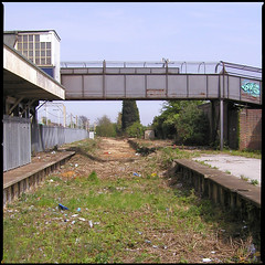 Southend East Station, Old Goods Bay Platform P5030107