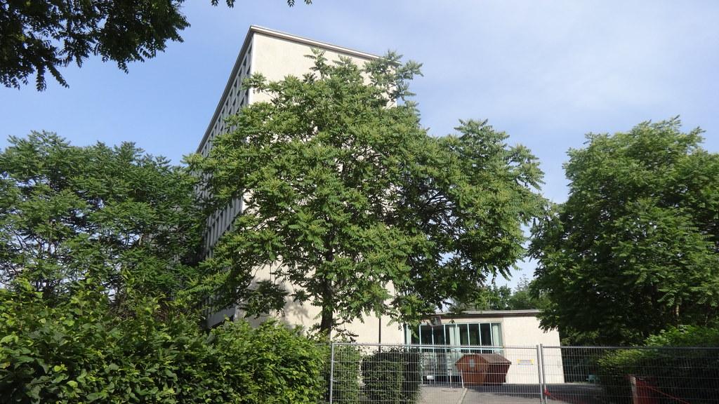 1952/54 Berlin-W. Amerika-Gedenkbibliothek von Gerhard Jobst/Willy Kreuer/Fritz Bornemann/Hartmut Wille Blücherplatz 1 in 10961 Kreuzberg