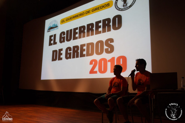 Trail Guerrero de Gredos 2019-Charla técnica