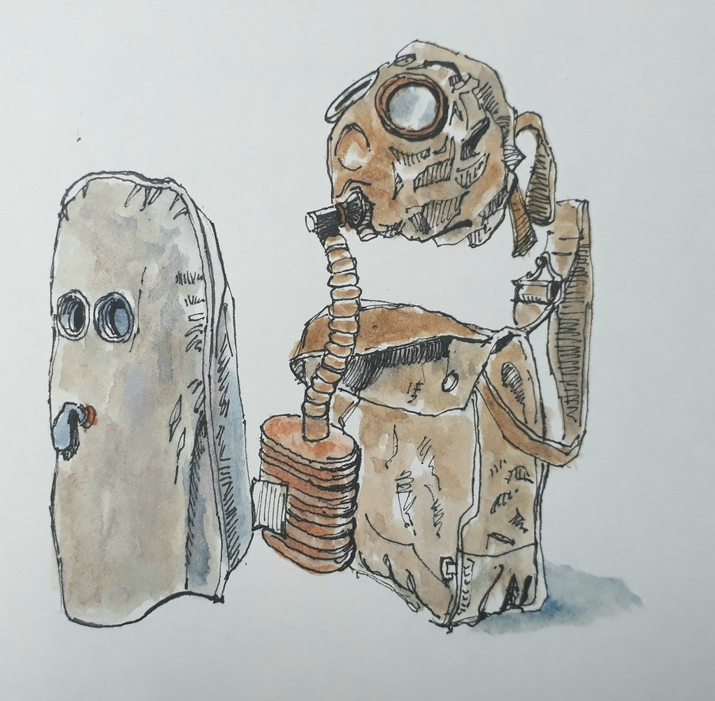 Gas masks, Imperial War Museum, London