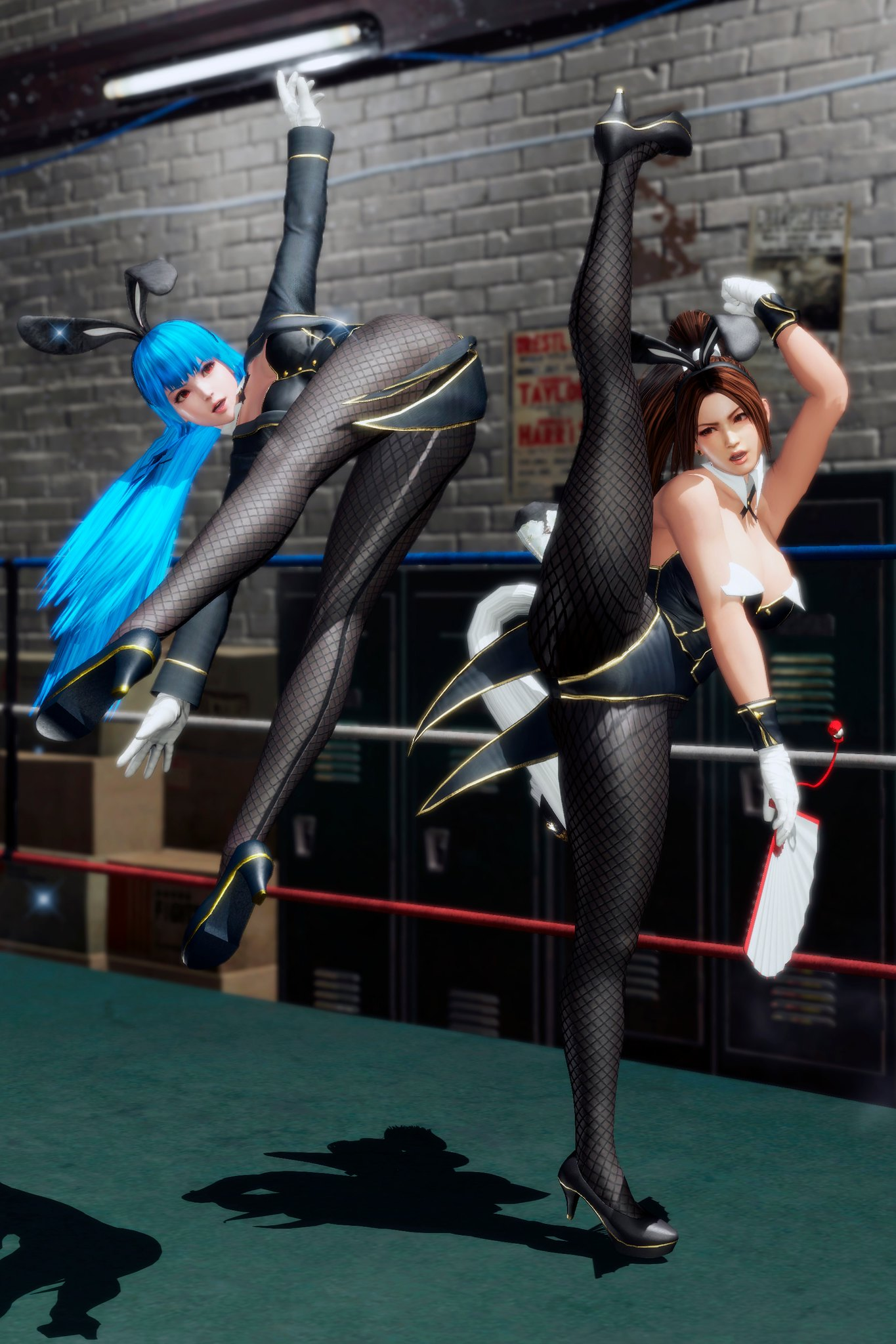 Dead or Alive 6 - Kula and Mai Bunny Costumes