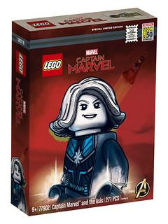 佛萊肯力量全開!! LEGO 77902《驚奇隊長》驚奇隊長與艾希斯號 Captain Marvel and the Asis【2019 SDCC 限定】