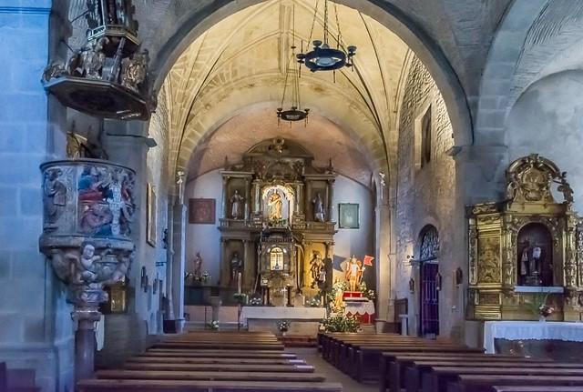 Iglesia de La Alberca , Salamanca