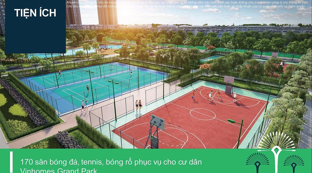 sân tennis nội khu